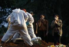 Brasil registra 182 muertes por coronavirus, la menor cifra diaria desde noviembre