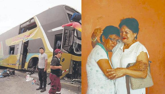 Sullana llora a sus muertos tras la tragedia en Huaura