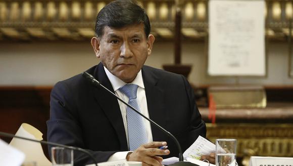 Ministro Morán: Vehículo en los exteriores de la casa de García se usó en la visita del Papa