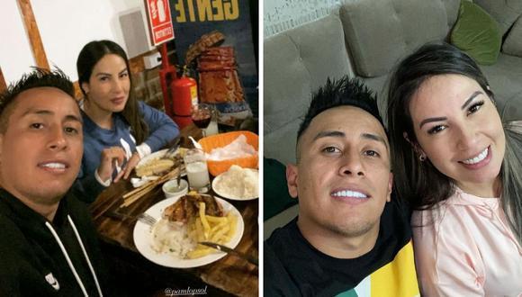 Christian Cueva y Pamela López siguen su romance pese a que hace un mes acabaron su relación. (Foto: Instagram @cueva10oficial)
