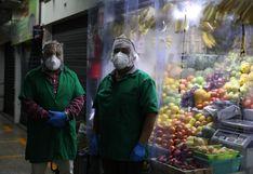 Entregan 1 100 protectores faciales a trabajadores del mercado Ramón Castilla