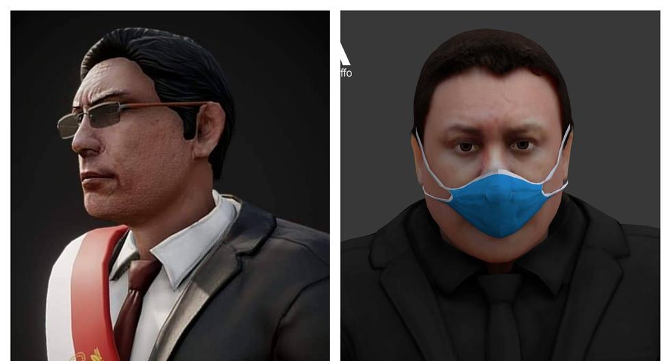 Martín Vizcarra y Richard Swing son tendencia tras ser recreados en Half-Life y Left 4 Dead