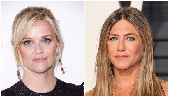 Jennifer Aniston y Reese Witherspoon protagonizarán serie para Apple