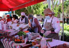 Sanjuaninos contra la anemia y desnutrición en feria nutritiva y artesanal