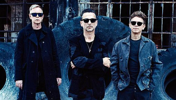 Depeche Mode llegó a Lima en vuelo privado (FOTO)