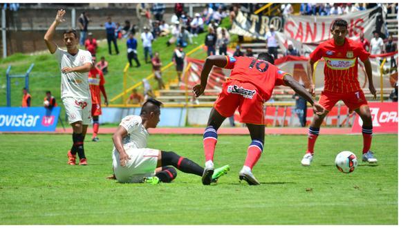 Sport Huancayo  empata con Universitario