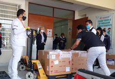 Más de 222 mil vacunas llegan a Arequipa para continuar la inmunización