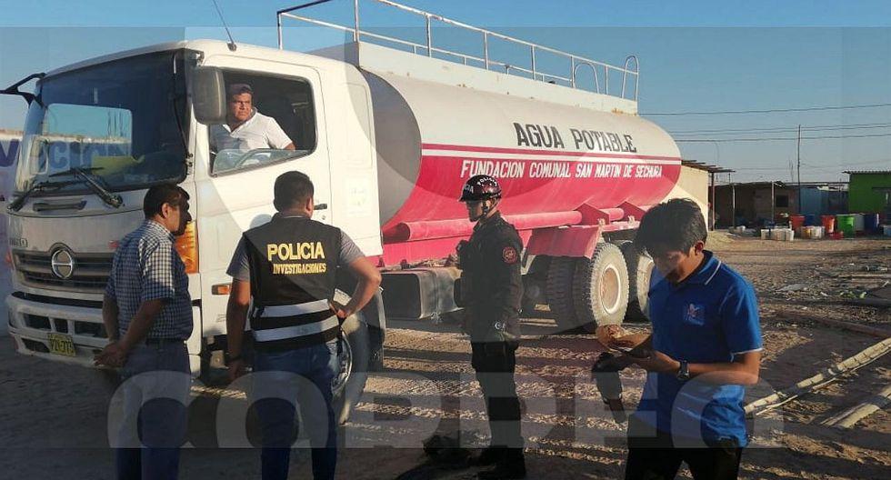 Una bebé de dos años fallece tras ser atropellada por un camión cisterna