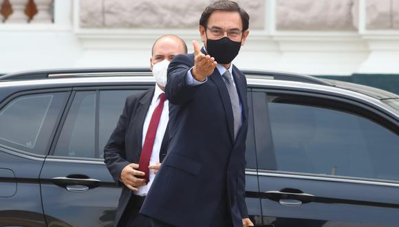 El expresidente Martín Vizcarra. Foto: Alessandro Currarino / @photo.gec