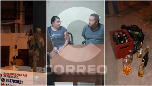 Primer regidor de la Municipalidad Provincial de Trujillo es intervenido en toque de queda