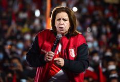 """Lourdes Flores: """"Esperamos que el JNE se ponga del lado correcto de la historia"""""""