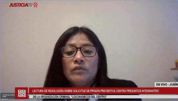 Fiscalía superior anticorrupción de Huancayo sustentará recurso contra el fallo de la jueza July Baldeón que rechazó el pedido de detención contra 20 implicados de la presunta organización criminal.  (Justicia TV)