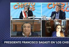 """Francisco Sagasti estuvo con """"Los Chistosos"""" y se animó a cantar """"El Plebeyo"""" (VIDEOS)"""