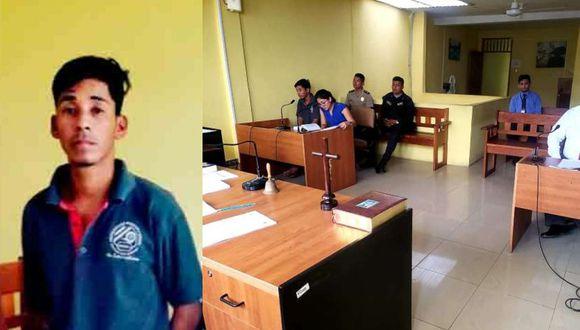 San Martín: Adrián Mucushua Papa (23) fue condenado a cadena perpetua por abusar sexualmente de la hija de su cuñada de solo 4 años.
