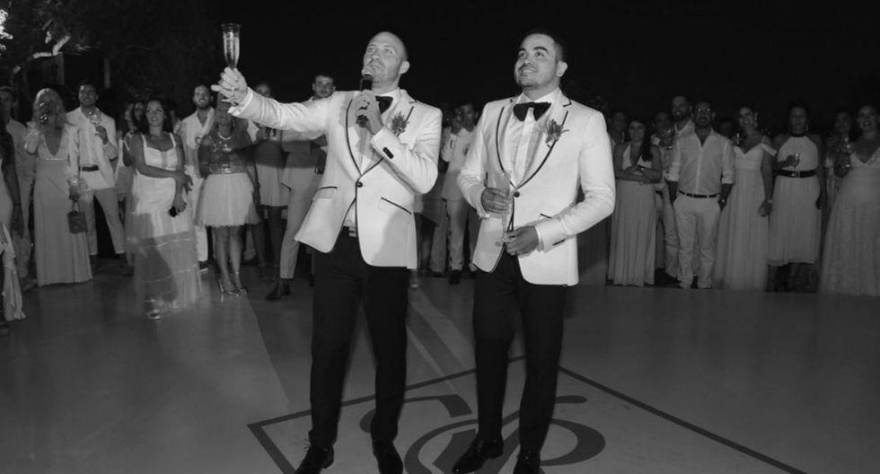 Yirko Sivirich tuvieron una boda simbólica el 14 de febrero. (Fotos: Yirko Sivirich)