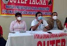 Sutep reclama omisión de cinco plazas en concurso de docentes auxiliares