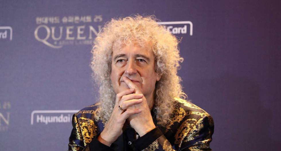Brian May se convirtió en vegano desde inicios del 2019. (AFP).