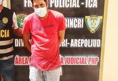 Ica: Policía captura a buscado por abuso sexual desde el 2014
