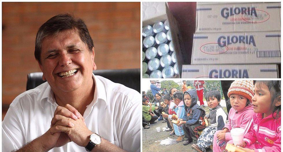 Vaso de Leche denunció en gestión de Alan García entrega de leche modificada