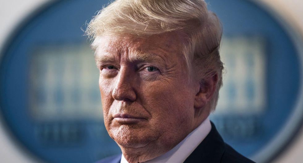 El presidente de Estados Unidos, Donald Trump, está siendo cuestionado por su manejo de la pandemia de coronavirus. (EFE/EPA/JIM LO SCALZO).