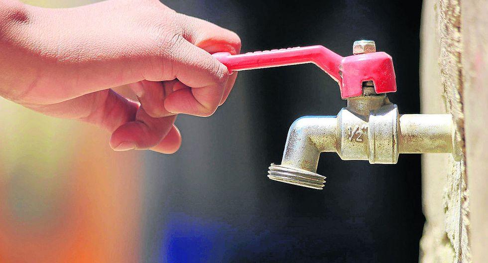 Cortarán el servicio de agua en el distrito más grande de Huancayo