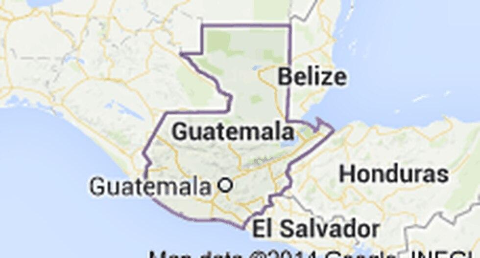 Sismo de 5.6 grados sacude Guatemala