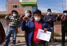 Pobladores de Chupa niegan que haya ocurrido un fraude