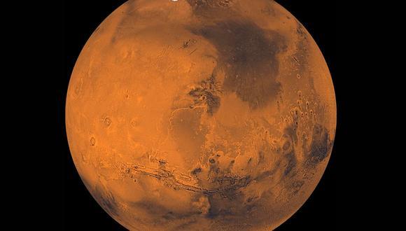 Marte es el cuarto planeta en orden de distancia al Sol y el segundo más pequeño del sistema solar, después de Mercurio.(Foto referencial: NASA)