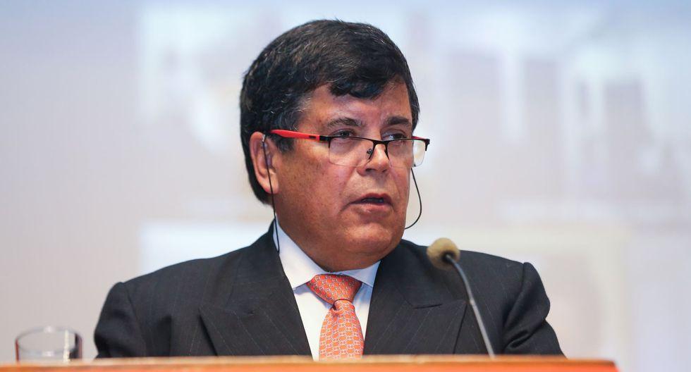 """Carlos Paredes: """"Hubo contratos con conflictos de interés""""/ Foto: Andina"""
