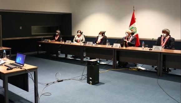 La Junta Nacional de Justicia continuará este lunes con las entrevistas a los candidatos a la jefatura del Reniec. (Foto: JNJ)