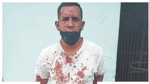 Según la Policía, el extranjero Rafael Bello Moreno atacó con un pico de botella a David Alexis Rosillo Gómez quien fue hospitalizado.