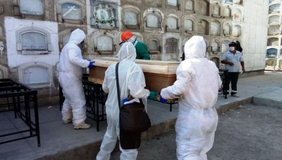 Según el último reporte de decesos a causa de la COVID-19 a nivel nacional, este lunes 14 de junio se registró en total 188 921 víctimas mortales desde que inició la pandemia. (Foto: Andina)