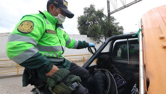 Coronavirus: 160 personas intervenidas en Cusco por no cumplir aislamiento social