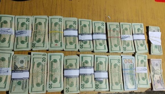 Tumbes: intervienen a dos hombres con 53,280 dólares y que ingresaron ilegalmente al país (Foto: Ministerio Público)