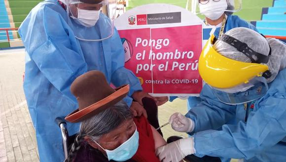 La jornada de vacunación es para adultos mayores de 80 años de edad. (Foto: Difusión)