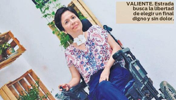 Defensoría apoyará aAna Estrada en busca de una muerte digna