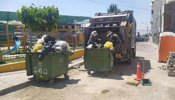 La población de Arequipa no hace una correcta segregación de sus residuos sólidos usados para afrontar la pandemia del coronavirus. (Foto: Correo)