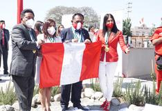 Ica celebró el Bicentenario y dejó Semilla del Tiempo