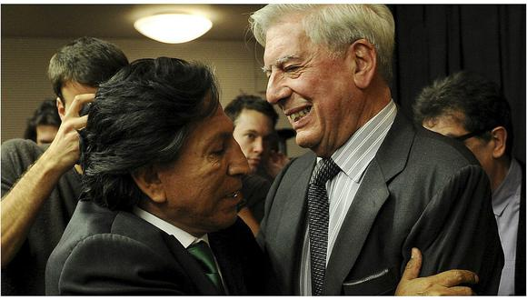"""Mario Vargas Llosa: """"Espero que Toledo sea juzgado y si es culpable, pague por sus robos"""""""