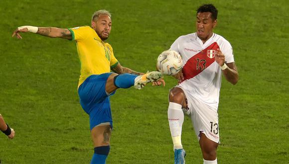 Perú se enfrenta de visita ante Brasil por las Eliminatorias Qatar 2022. (Foto: AFP)