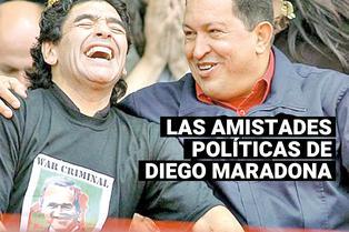 Diego Armando Maradona: así era la amistad que tuvo con Fidel Castro, Hugo Chávez y Nicolás Maduro