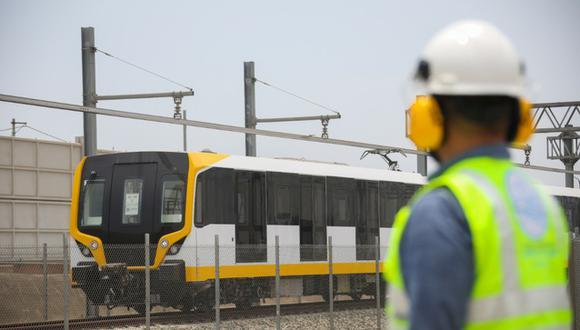 Ministerio de Transportes informó que la primera etapa de la Línea 2 del Metro de Lima, que comprende cinco estaciones, se encuentra al 98% y ya está próximo a iniciar pruebas. (Foto: MTC)
