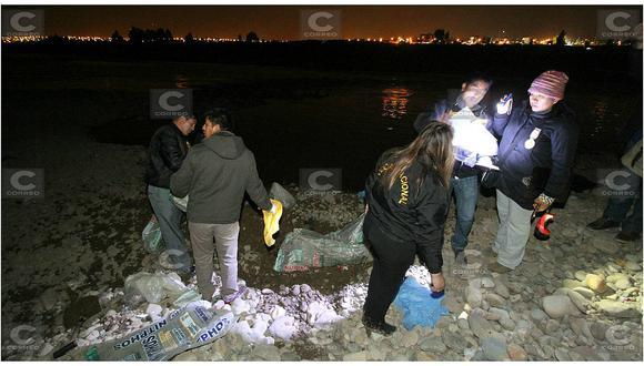 Huancayo: descuartizan a una mujer y la entierran a orillas del río Mantaro