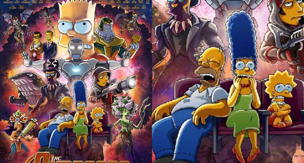 """""""Los Simpson"""" anuncian parodia de """"Avengers"""" con la participación de los hermanos Russo"""