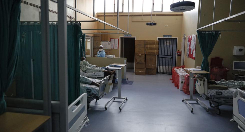 Imagen de un hospital en Tembisa, Sudáfrica. (Guillem Sartorio / AFP).