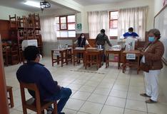 El 30% de miembros de mesa no acude a centros de votación en Tacna