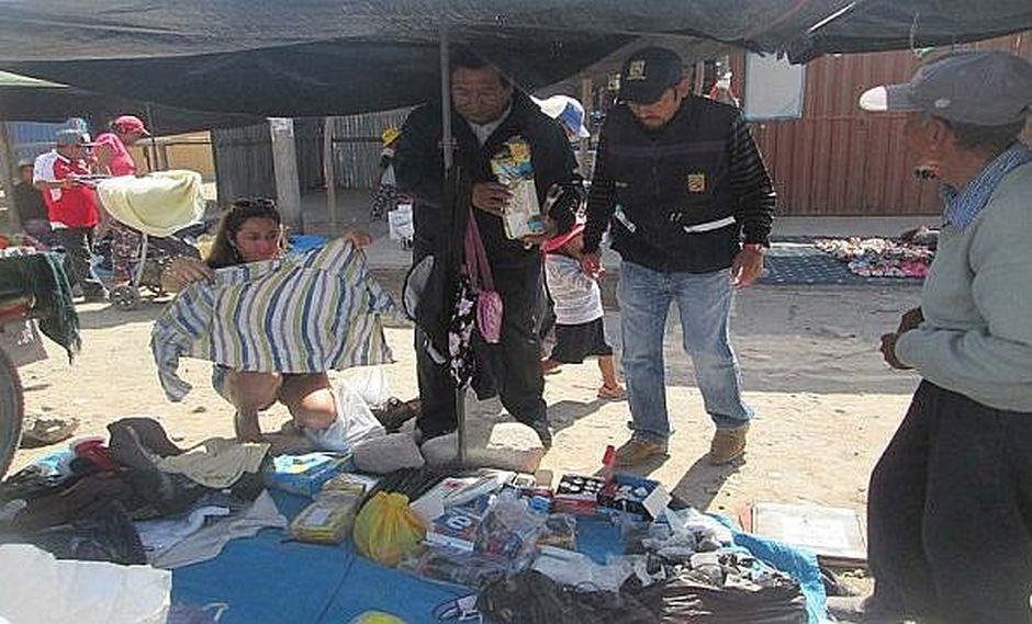 Autoridades incautan más de 40 sacos de pirotecnicos en ferias navideñas
