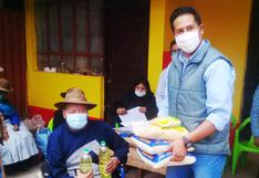 Detectan firmas falsas en entrega de canastas en Huancané, en Puno