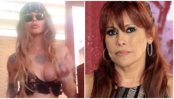 Angie Jibaja vuelve a amenazar a Magaly Medina con video comprometedor. (Foto: Instagram)
