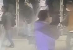 Delincuentes asaltan tienda llena de compradores y acaban arrestados al sufrir accidente mientras escapaban